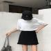 Chân váy chữ A phối viền bèo Yando- CV01