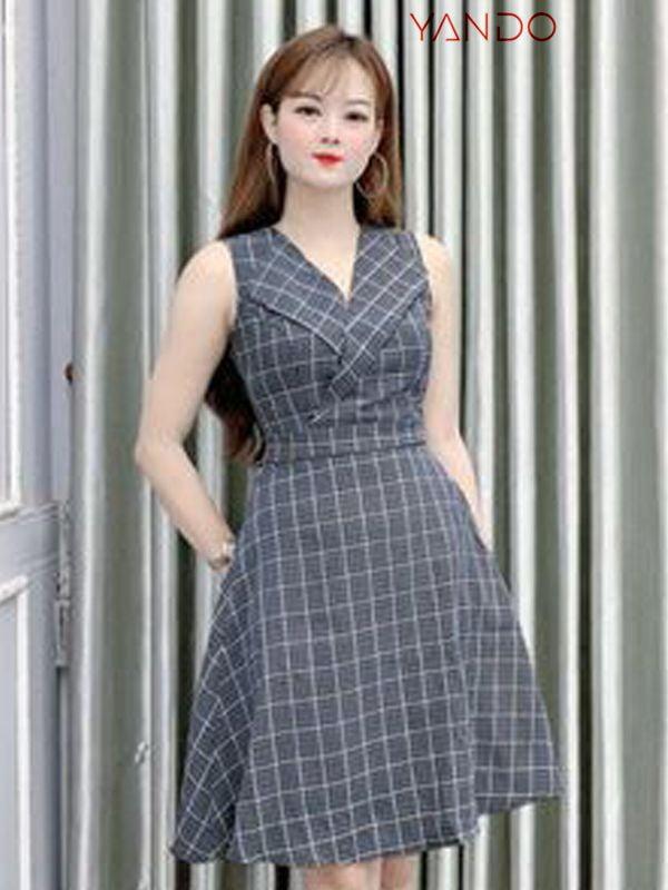 Đầm Cổ Vest DA02