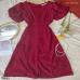 Đầm MiDi Tay Phồng YANDO_DA17
